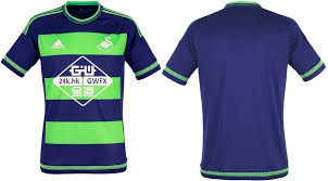 Colour Combination With Blue New Swansea City 2015 16 Home Away Kits Released