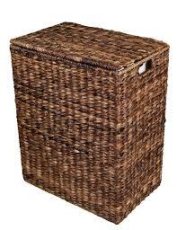 amazon com birdrock home abaca laundry hamper hand woven
