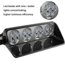 emergency light laws by state 16 flashing modes with suction cups led car strobe lights white