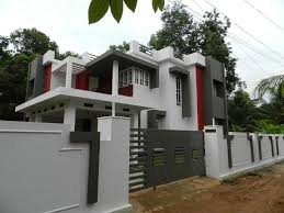 Indian House Compound Wall Designs