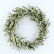 large 32 retro modern tinsel wreath for front door nova68
