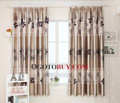 floral short bay windows country style curtains buy multi color