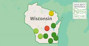 Northern Wisconsin Map by 2018 Best Districts In Wisconsin Niche
