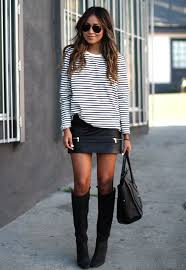 shortest skirts right ways to wear mini skirts style inspiration looks