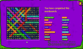 Free Halloween Word Search Printable by Binweevils Wordsearch Answers 2010 Halloween Youtube
