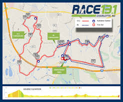 Charlotte Map Race 13 1 Charlotte Half Marathon World U0027s Marathons