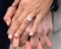 wedding rings in botswana meghan markle s engagement ring from prince harry has diamonds