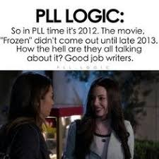 Pll Meme - pll logic google search pretty little liars 3 pinterest