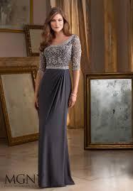 beautiful dress beautiful and intricate beading on jersey morilee evening dress