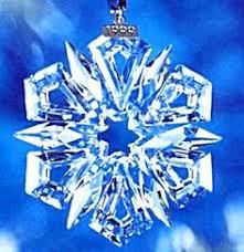 Swarovski Christmas Snowflake Ornaments by Swarovski 2001 Annual Christmas Snowflake Ornament Z Christmas