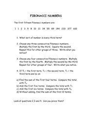 maths fibonacci sequence by hodanhassan99 teaching resources tes