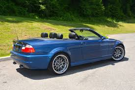 black convertible bmw 2002 bmw m3 convertible in topaz blue metallic with black leather