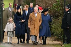 queen misses out with illness as royal family attend sandringham