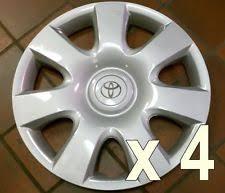 2004 toyota corolla hubcaps toyota corolla hubcap hub caps ebay