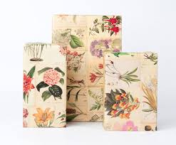 botanical wrapping paper 12 sheets