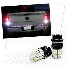 2015 dodge ram 1500 tail light bulb replacement amazon com tgp 3157 white 64 led smd wedge reverse backup light