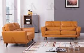 Living Room With Orange Sofa American Eagle Furniture Ek082 Org Orange Sofa And Loveseat Set