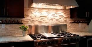 Stone Backsplash Dark Cabinets Personable Plans Free Office With - Backsplash stone