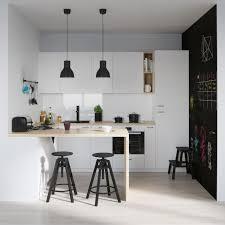cuisine ardoise et bois design interieur cuisine bois et blanc peinture ardoise chaises bar