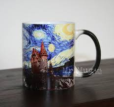 hogwarts starry night mug harry potter harry potter mug
