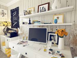 shabby chic home office interior design ideas