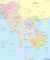 Southeastern Asia Map by Vietnam Map Blank Political Vietnam Map With Cities