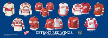 heritage uniforms and jerseys detroit red wings heritage jersey