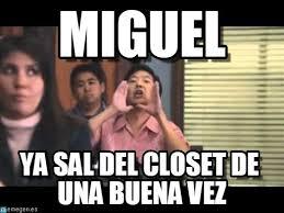 Miguel Memes - miguel ha gay meme en memegen