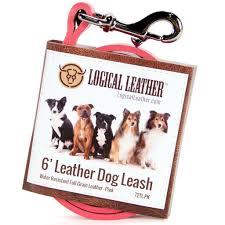 australian shepherd keychain 6 foot full grain leather dog training leash logical leather