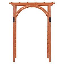 premium outdoor wooden cedar arbor garden arches trellises