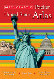 State Flags Of Usa Scholastic Pocket United States Atlas By Philip Steelescholastic