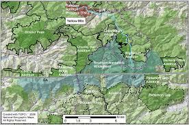 nantahala river map carolina s mountain treasures southern nantahala