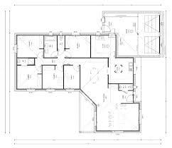 plan 4 chambres plain pied plan maison plain pied 130m2 plan maison plain pied 3 chambres 130