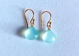 ch earrings blue chalcedony earrings stephany hitchcock designs