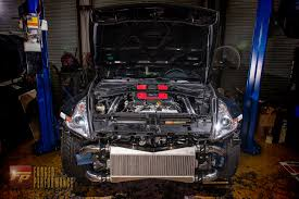 nissan 370z oil cooler forged performance llc