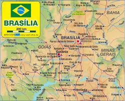 map of brasilia brasilia map travelsfinders