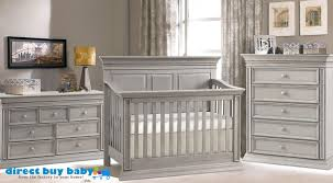 Grey Convertible Cribs Distressed Grey Rustic Nursery Set I Direct Buy Baby I