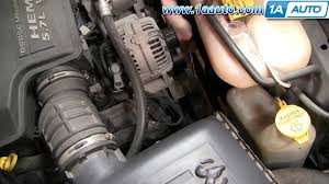 how to install repair replace serpentine belt tensioner dodge ram