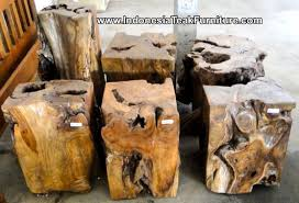 teak wood end table teak wood home accessories from bali and java indonesia