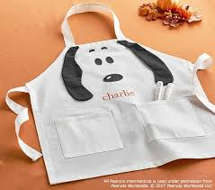 thanksgiving apron peanuts thanksgiving apron pottery barn kids