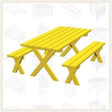 picnic table plans detached benches furniture 07 free picnic table plans good looking 28 free picnic