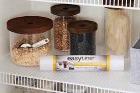 kitchen cabinet lining ideas how to use non adhesive easyliner shelf liners duck brand