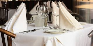 restaurant table linens choosing the right fabric and source for