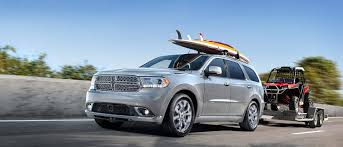 2017 dodge durango fuel efficient suv