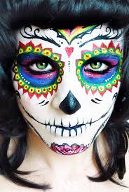 half face halloween makeup ideas 89 best day of the dead makeup images on pinterest costumes