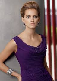 purple dresses for weddings knee length generous ruching chiffon a line of knee length bateau straps the
