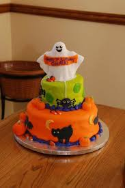 halloween themed 1st birthday cake cakecentral com halloween