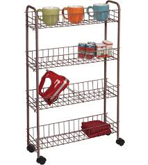 Laundry Room Storage Cart Rolling Utility Cart In Laundry Carts