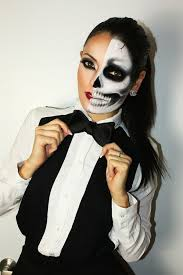 Man Woman Halloween Costume Skull Woman Makeup Mugeek Vidalondon