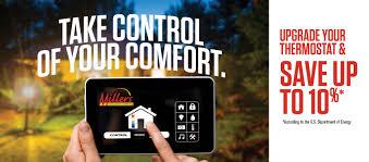 Always Comfortable Heating And Air Conditioning Millers Heating And Air Conditioning Hampton Roads Va Hvac